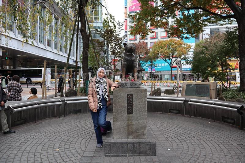 Hachiko Statue di Shibuya