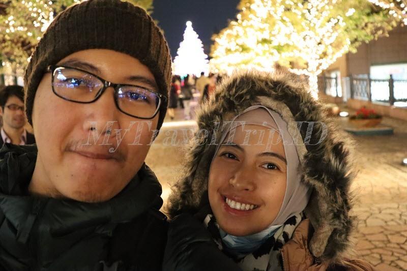 Selfie Dengan Illumination Natal
