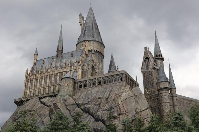 Hogwarts Castle, Ini Bukan Lukisan Tapi Nyata