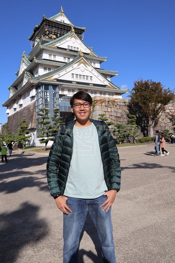 Osaka Castle Terlihat Sangat Kokoh