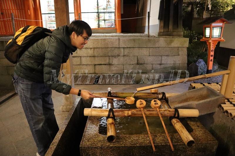 Air Suci di Kuil Yasaka