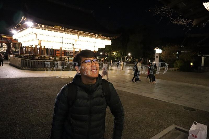 Keindahan Lentera Yasaka Shrine Saat Malam Hari