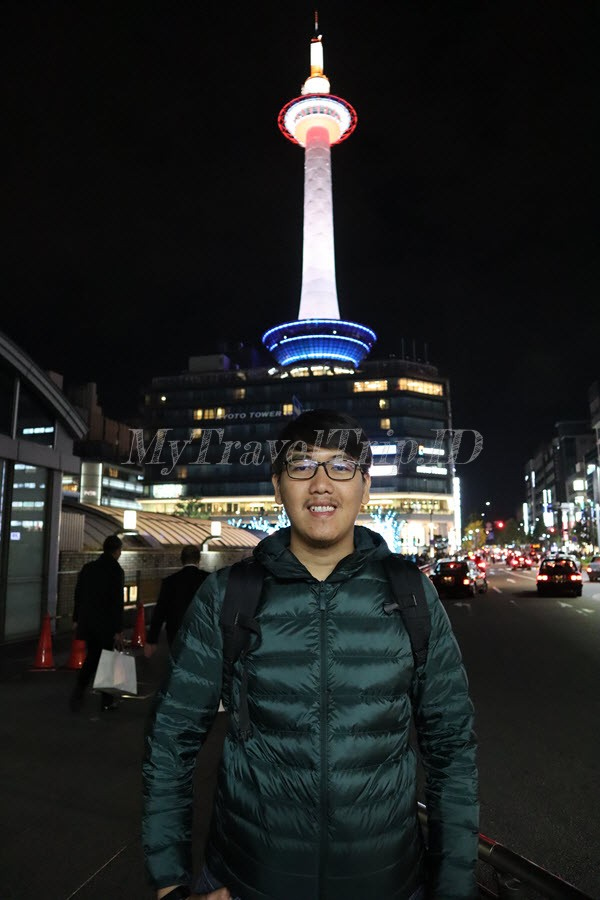 Dia dan Kyoto Tower