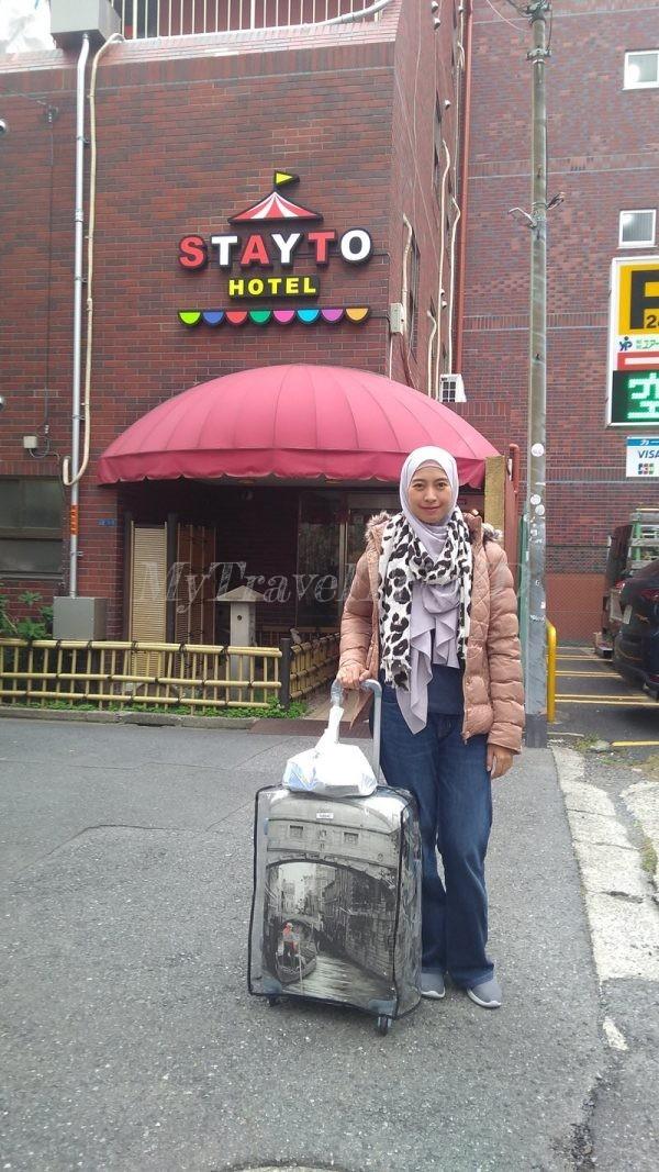 Aku dan 1 Koper Kami, Lanjut Menjalani Hari Kedua di Jepang