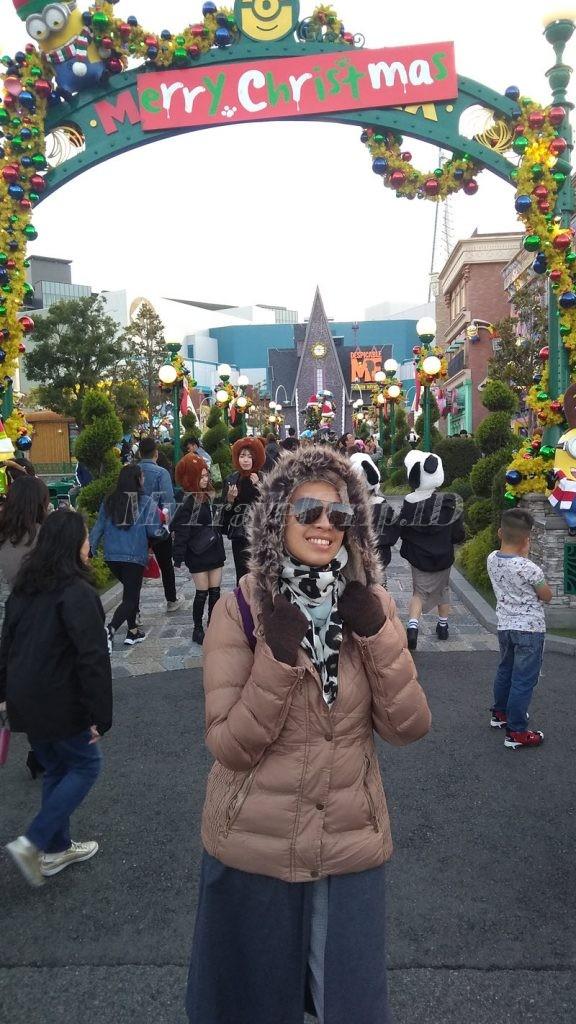 Wahana Minion di Universal Studio Jepang