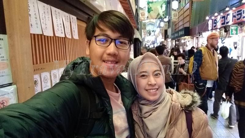 Suasana Nishiki Market di Pagi Hari