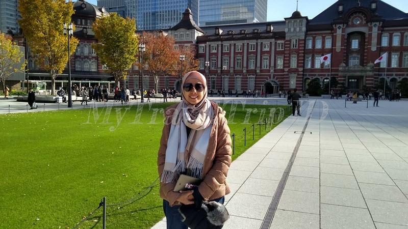 Wajib Foto di Tokyo Station