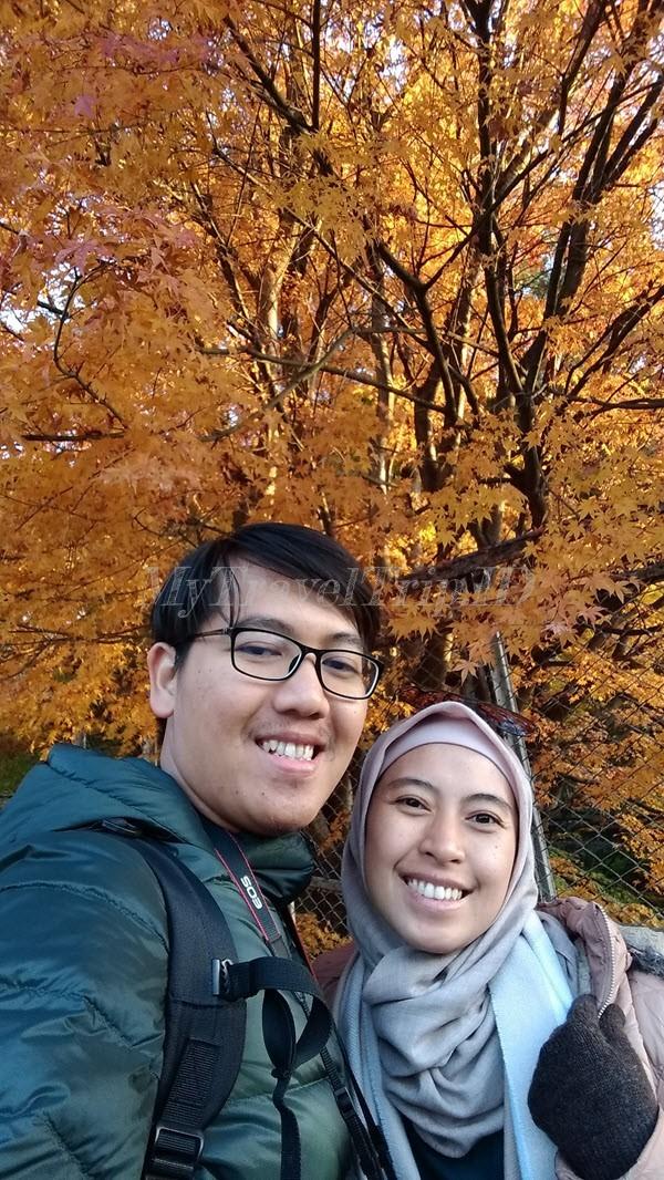 Kami dan Musim Gugur di Gunung Fuji