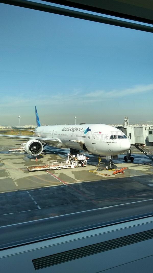 Pesawat Kami Haneda-JKT